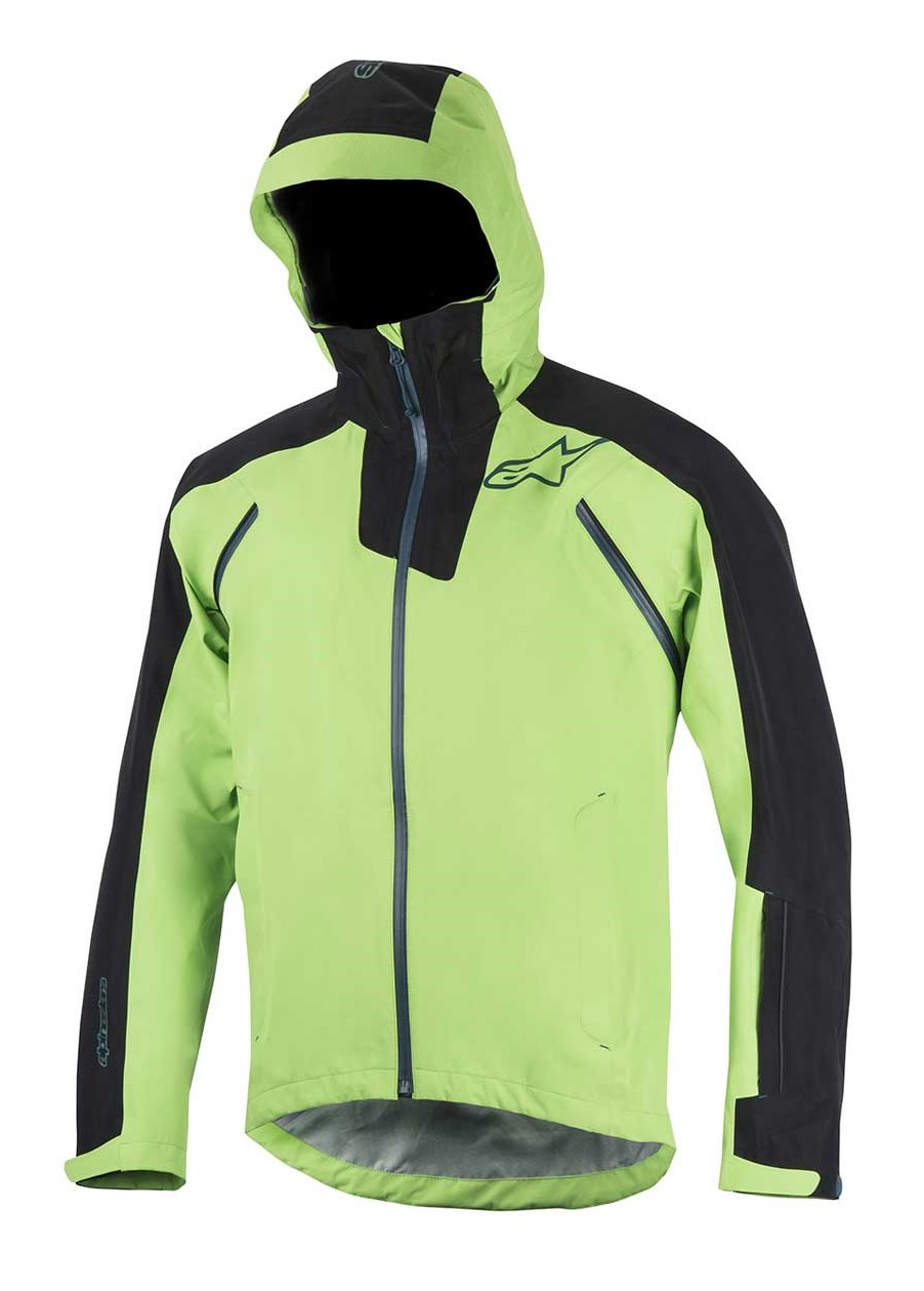 Alpinestars All Mountain 2 WP Jacket bright green black vel. M