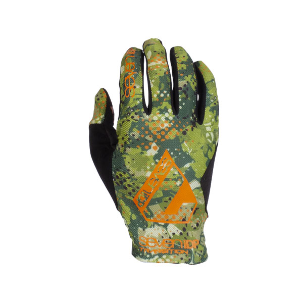 7idp Seven Transition rukavice Orange/Camo/Black