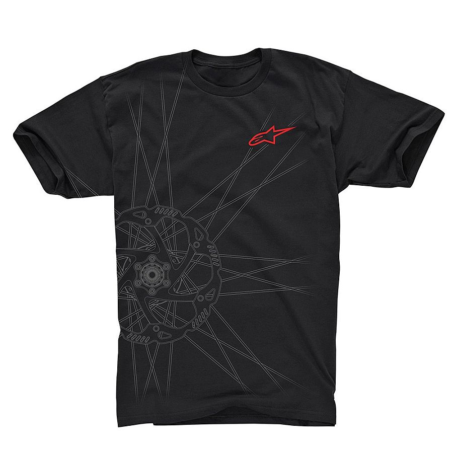 Alpinestars SPOKES Tech Tee Ride Dry - Black