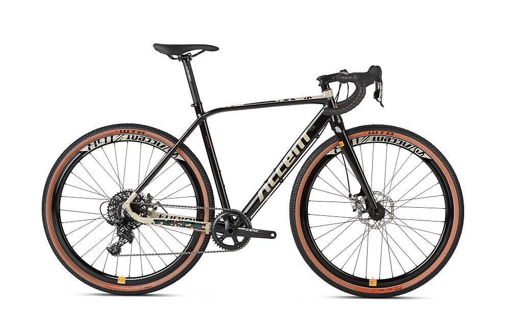 Accent Bikes Furious - gravel bike - Army camo - vel. M