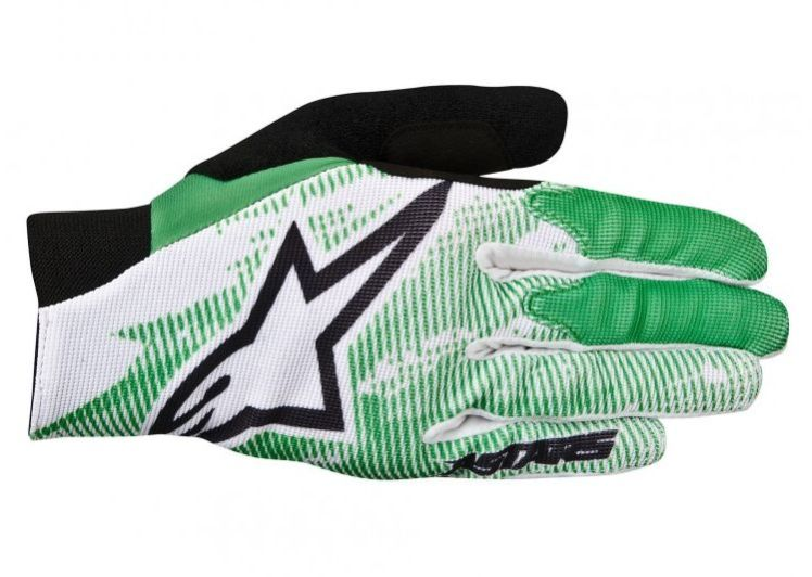 Alpinestars Aero rukavice Bright green