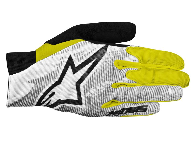 Alpinestars Aero rukavice Yellow Fluo