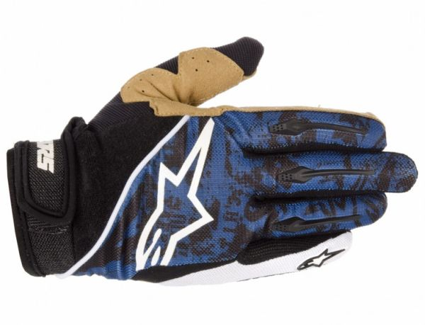 Alpinestars Gravity Blue rukavice modré