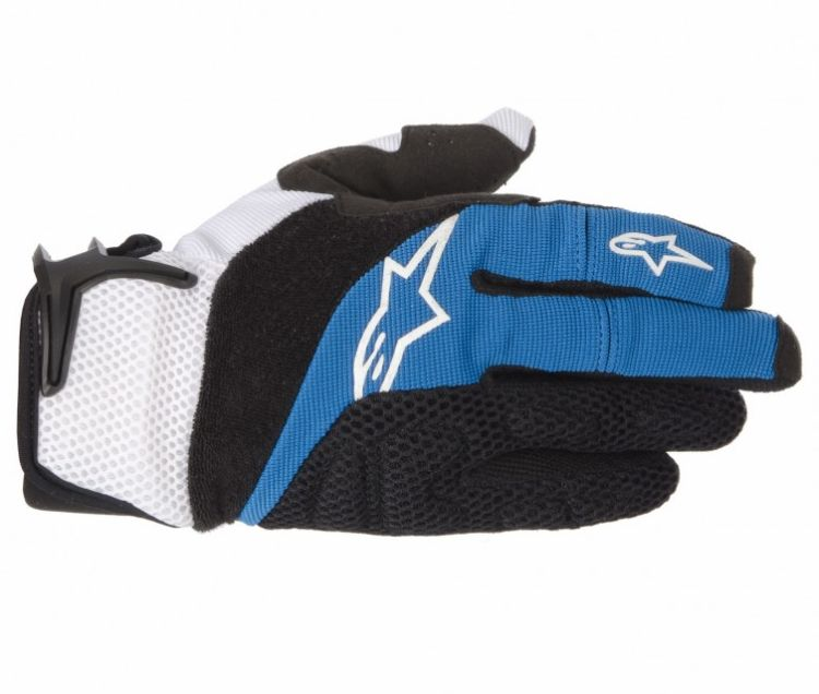 Alpinestars MOAB rukavice Blue Black White