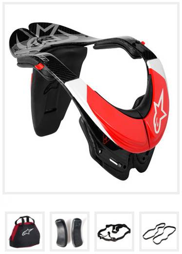 Alpinestars BNS Carbon - Bionic Neck Support vel. S