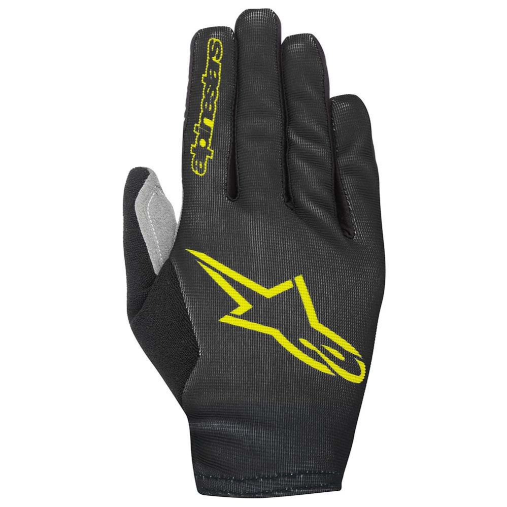 Alpinestars Aero 2 rukavice Black Acid Yellow - Akce