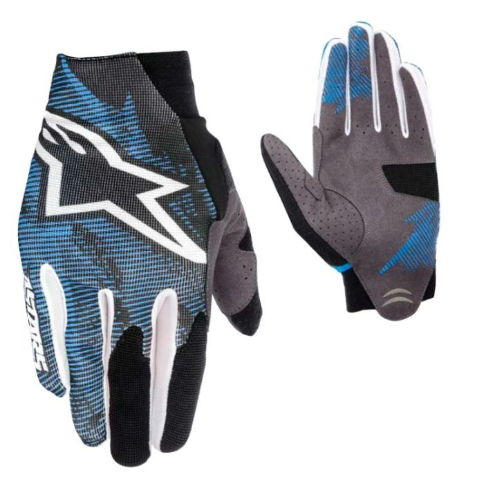 Alpinestars Aero rukavice Blue White