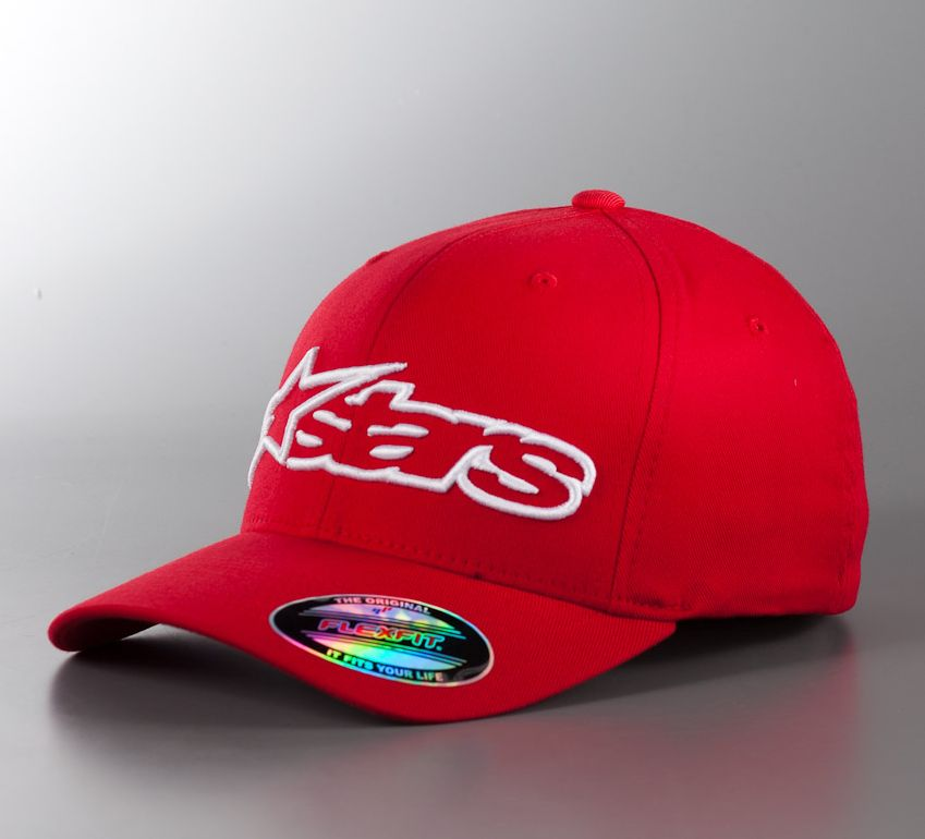 Alpinestars Blaze Flexfit kšiltovka Red / White