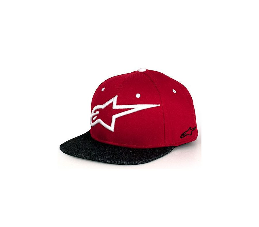Alpinestars Circuit Smart hat kšiltovka Red