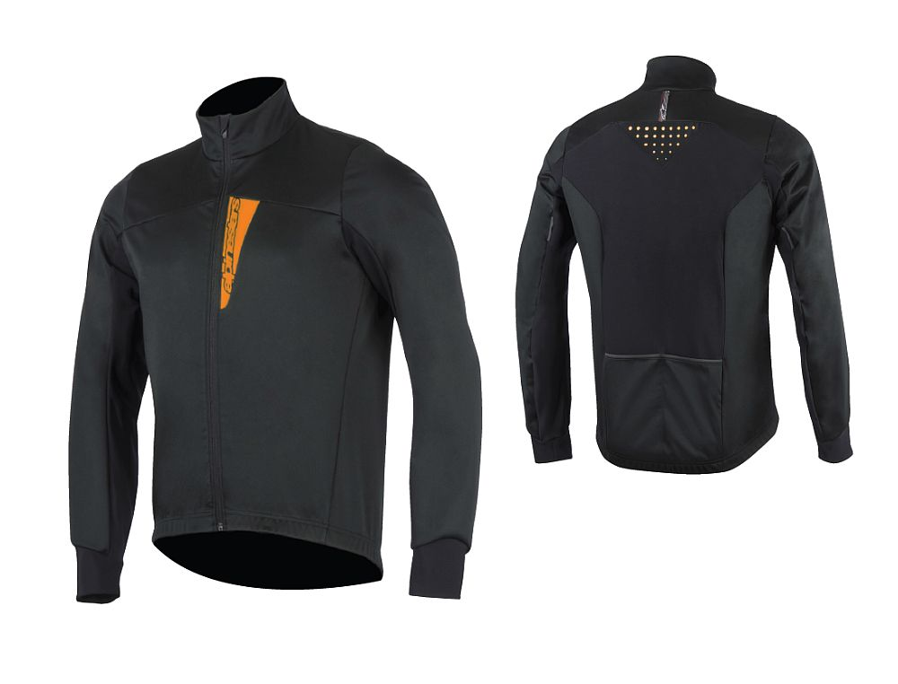 Alpinestars Cruise Shell Jacket Royal Black / Orange