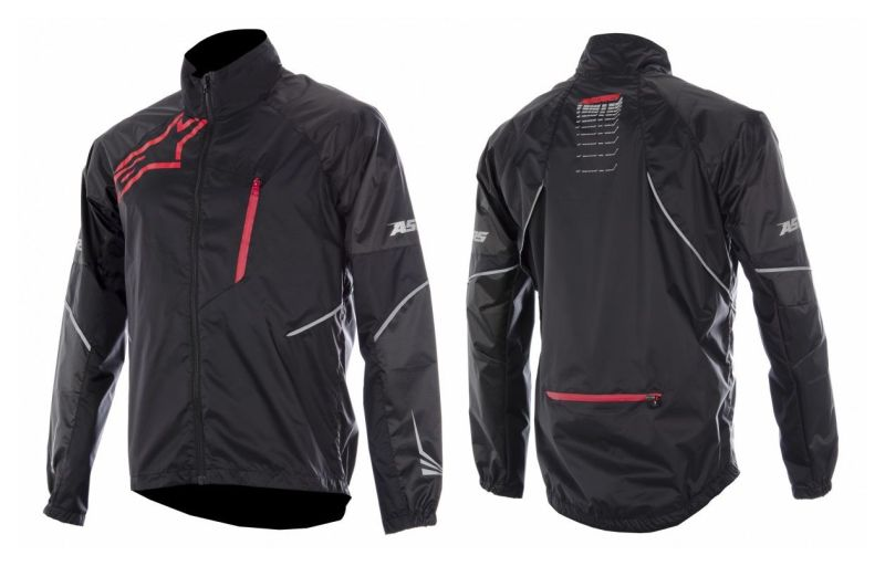 Alpinestars Sirocco Jacket Black Red