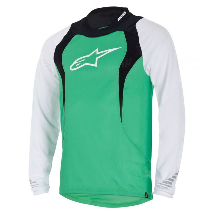 Alpinestars Drop L/S Jersey dres Green - vel. XL