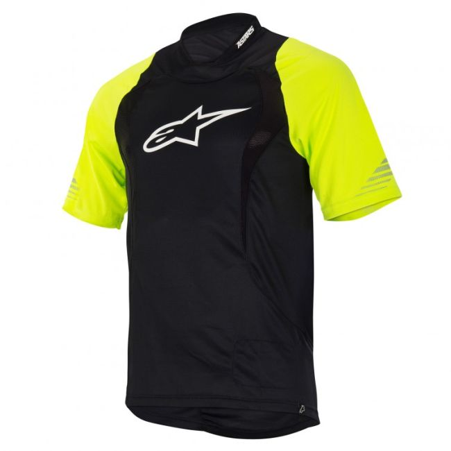 Alpinestars Drop S/S Jersey dres Fluo Yellow / Black vel. XL