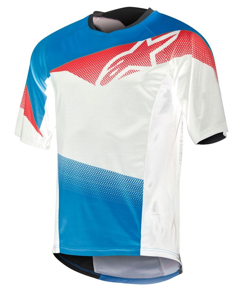 Alpinestars Mesa S/S Jersey dres Royal Blue Red White SLEVA