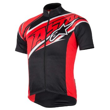 Alpinestars Nemesis TEAM S/S Jersey dres Black/red