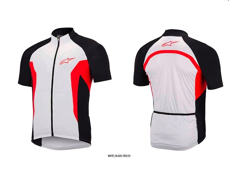 Alpinestars Nemesis S/S Jersey dres White/Black/Red