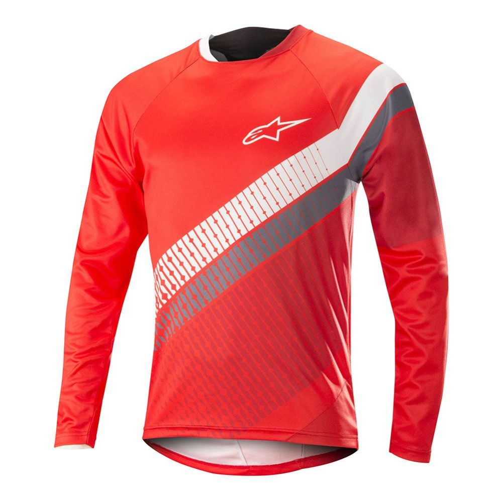 Alpinestars Predator LS Jersey - Red Cherry White