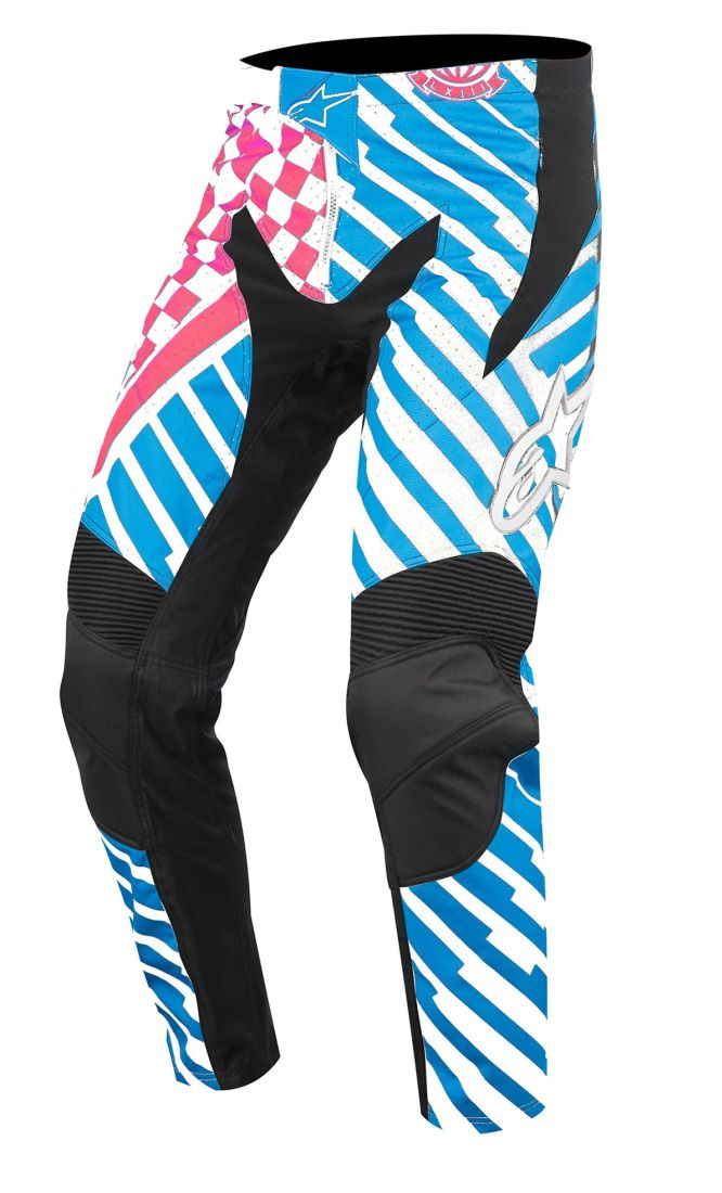 Alpinestars Sight Pants Speedster Red/Bright Blue kalhoty