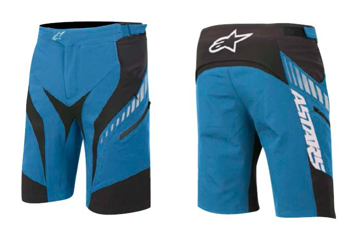 Alpinestars Drop Shorts Electric Blue / White / Black vel. 36