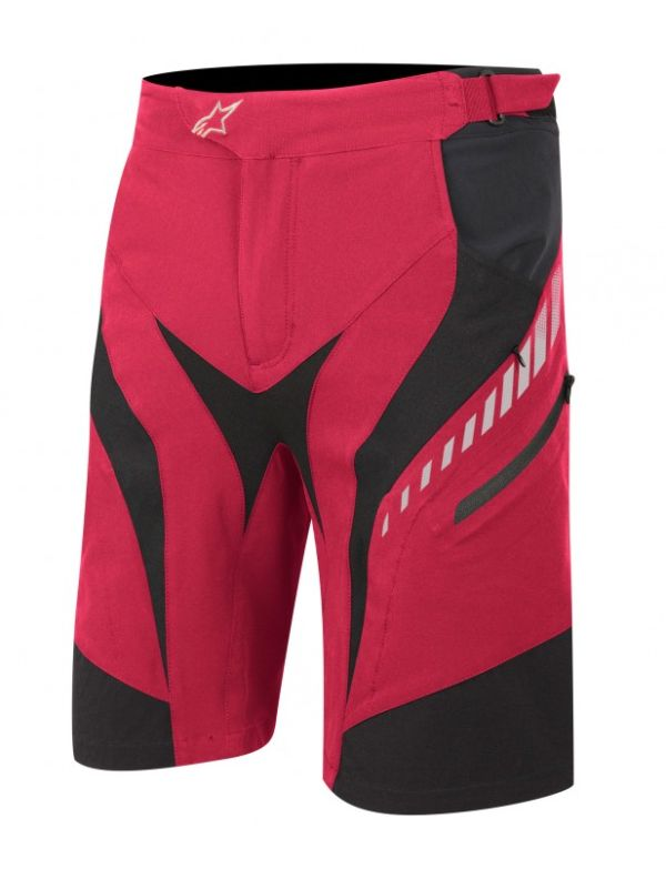 Alpinestars Drop Shorts True Red / White vel. 36