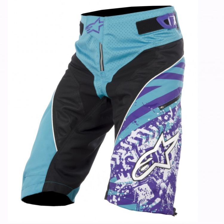 Alpinestars Gravity Shorts Blue Marine Violet