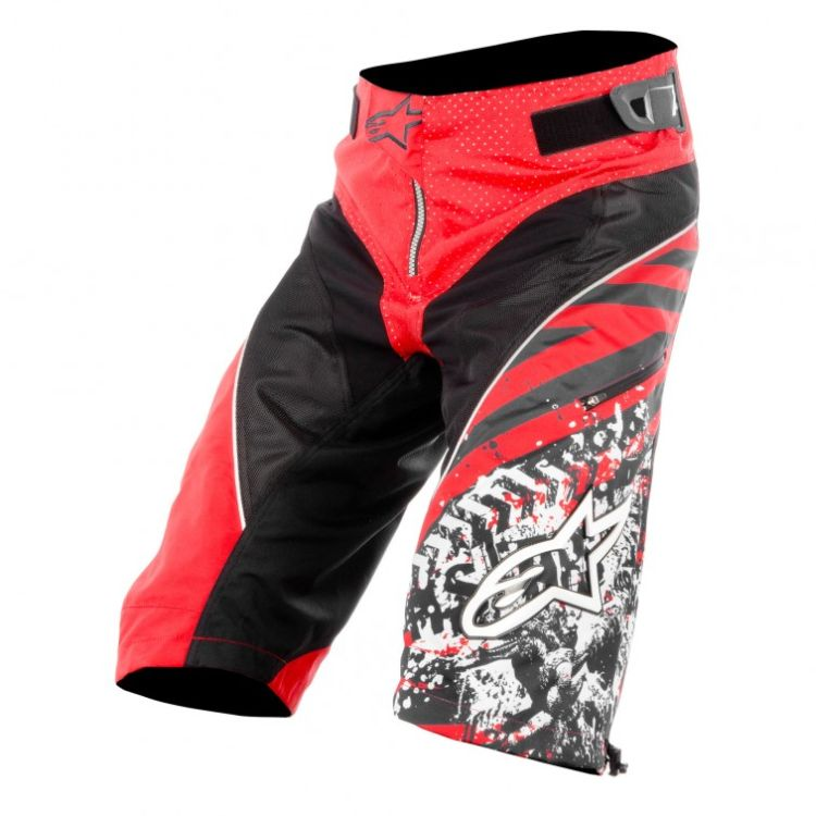 Alpinestars Gravity Shorts Red Black