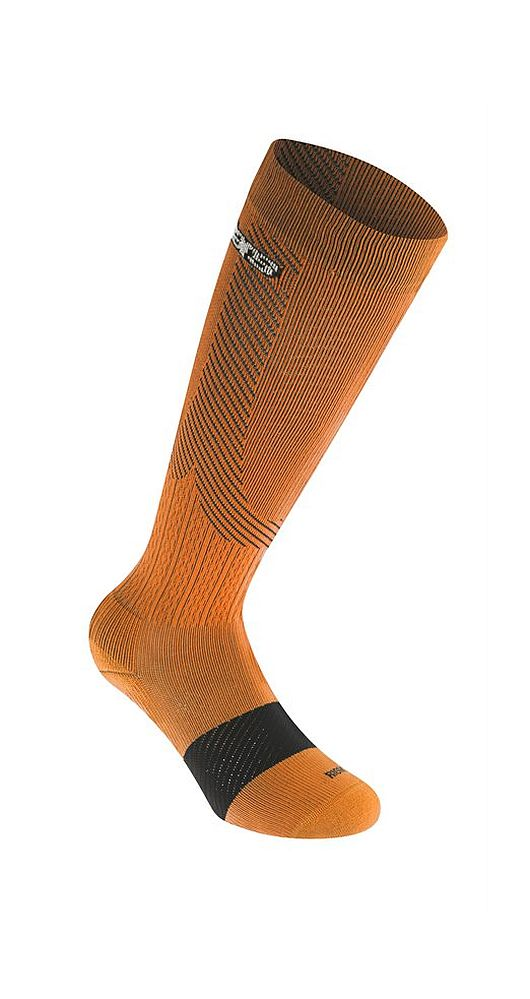 Alpinestars Compression Socks - podkolenky Orange/blk kompresní