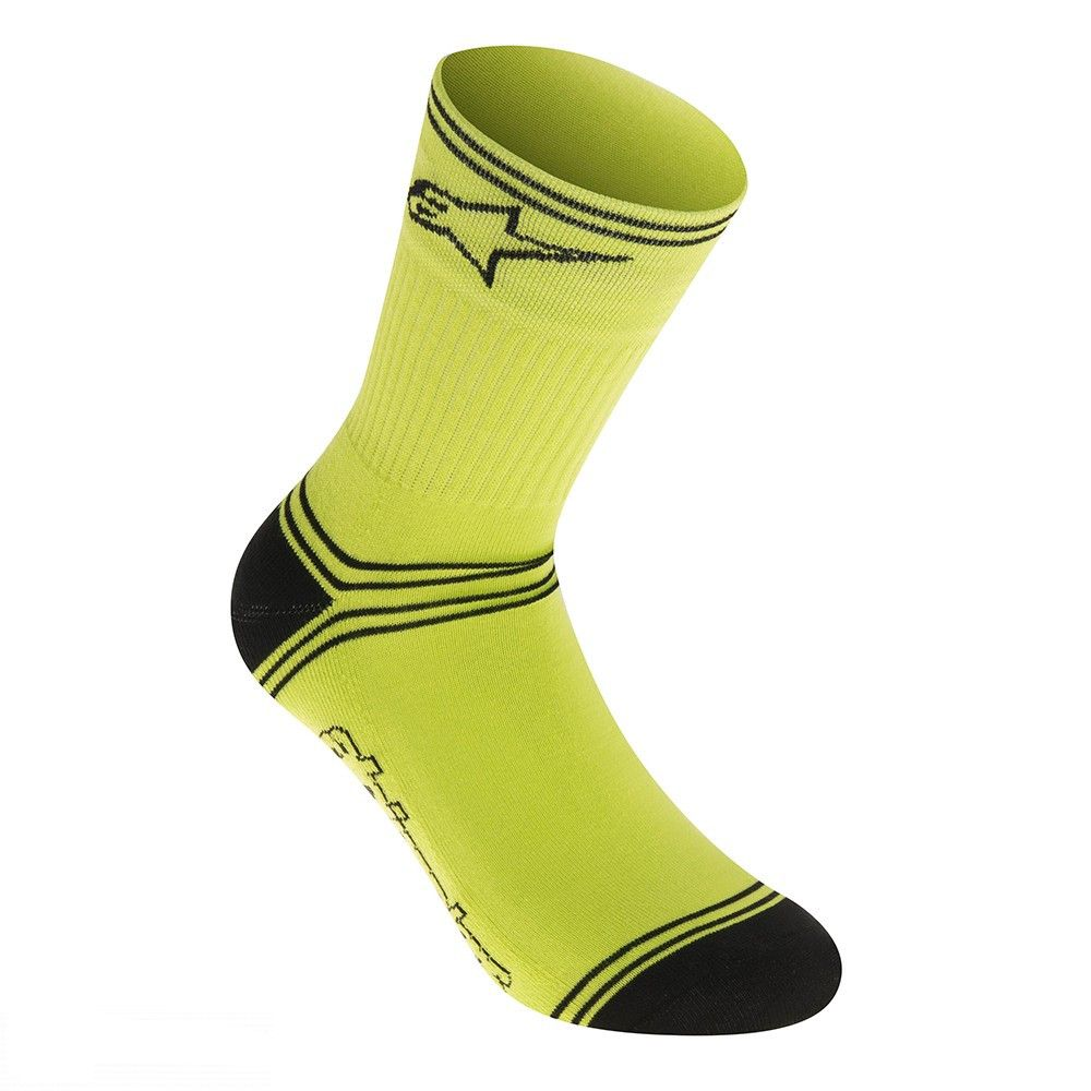 Alpinestars MTB Winter Socks - ponožky Acid yellow/Black