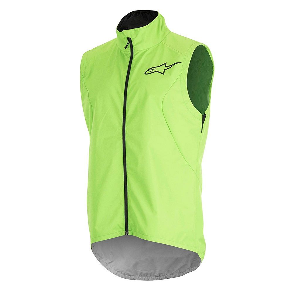 Alpinestars Descender 2 Windproof VEST Bright Green Black