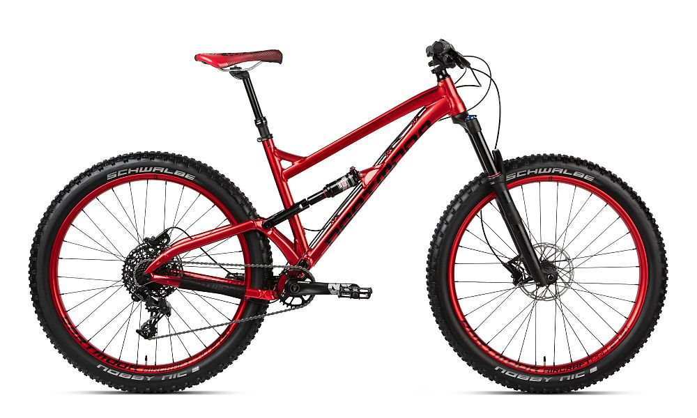 Dartmoor Bluebird Pro 27.5+ kolo Plus size Red Devil