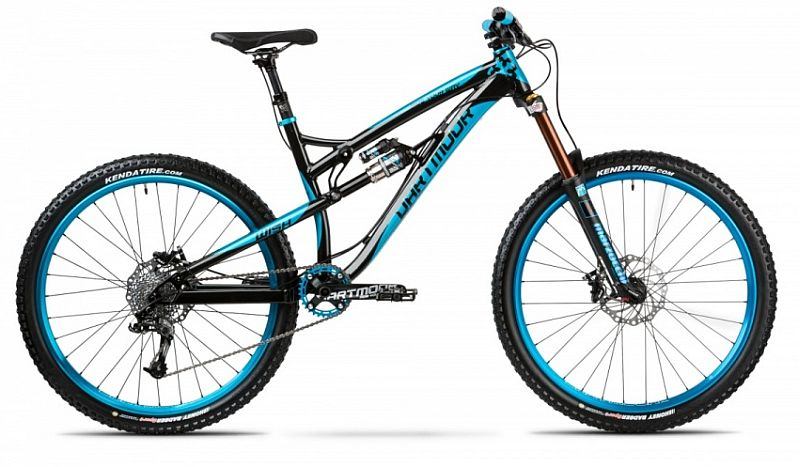 Dartmoor Wish Enduro 27.5 /650 B - Black Turquoise kolo