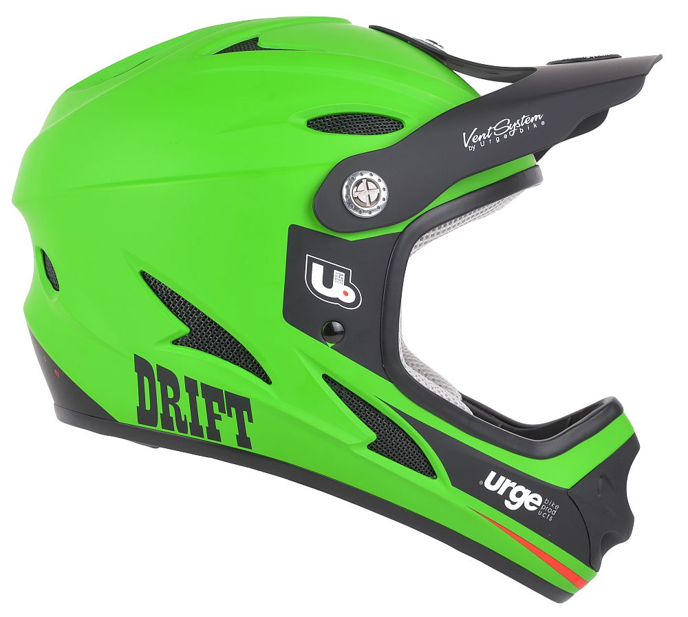 URGE Drift Green helma